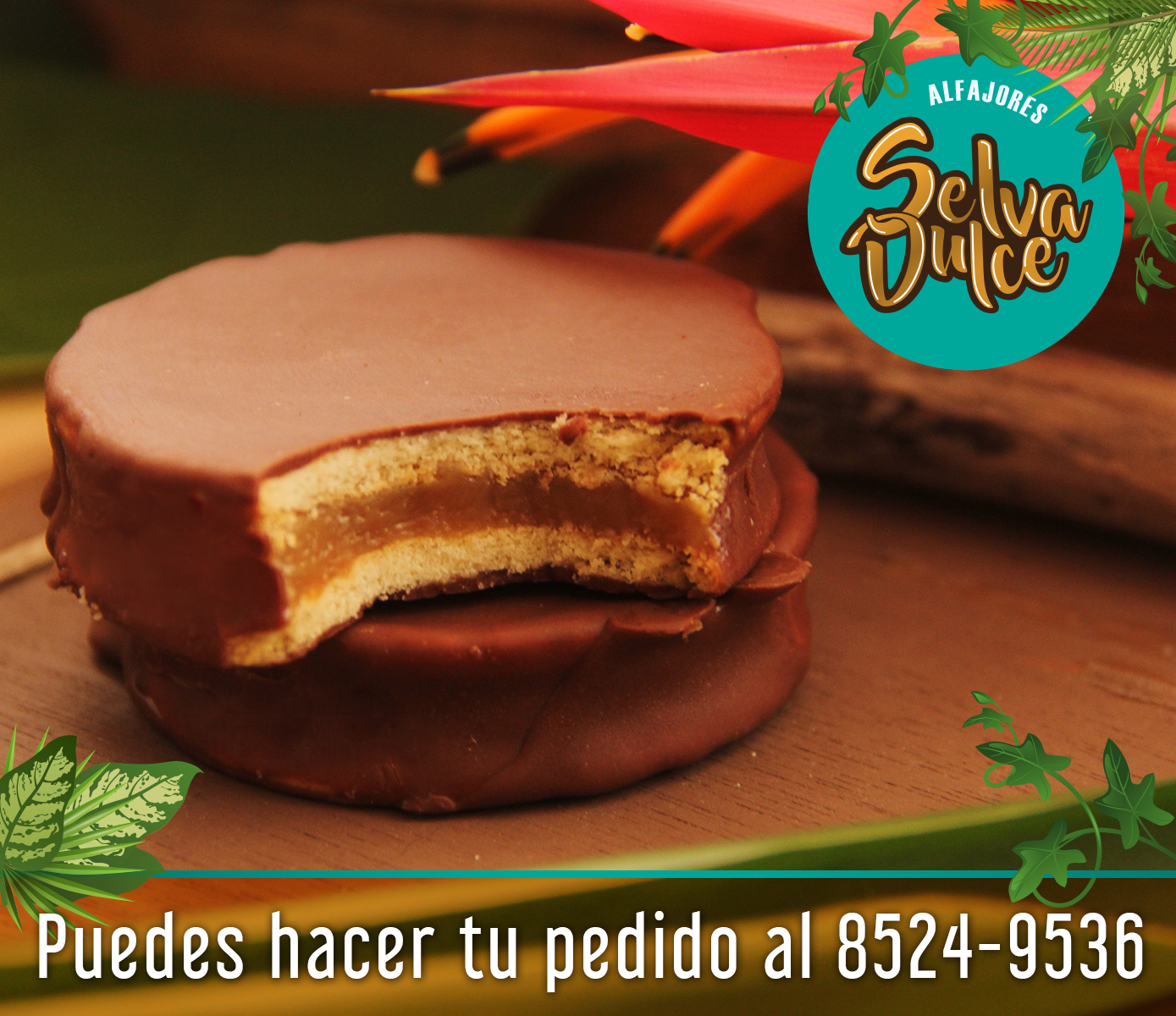 galleta de alfajor