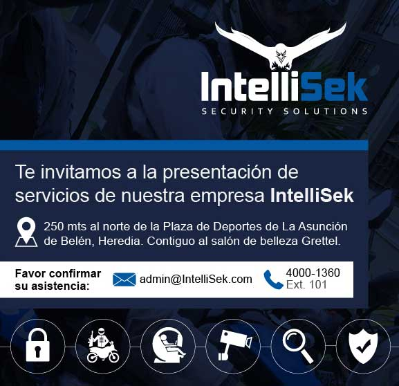 invitación corporativa de Intellisek